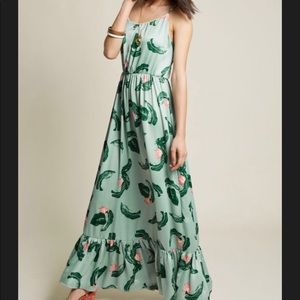 ModCloth maxi dress size XL